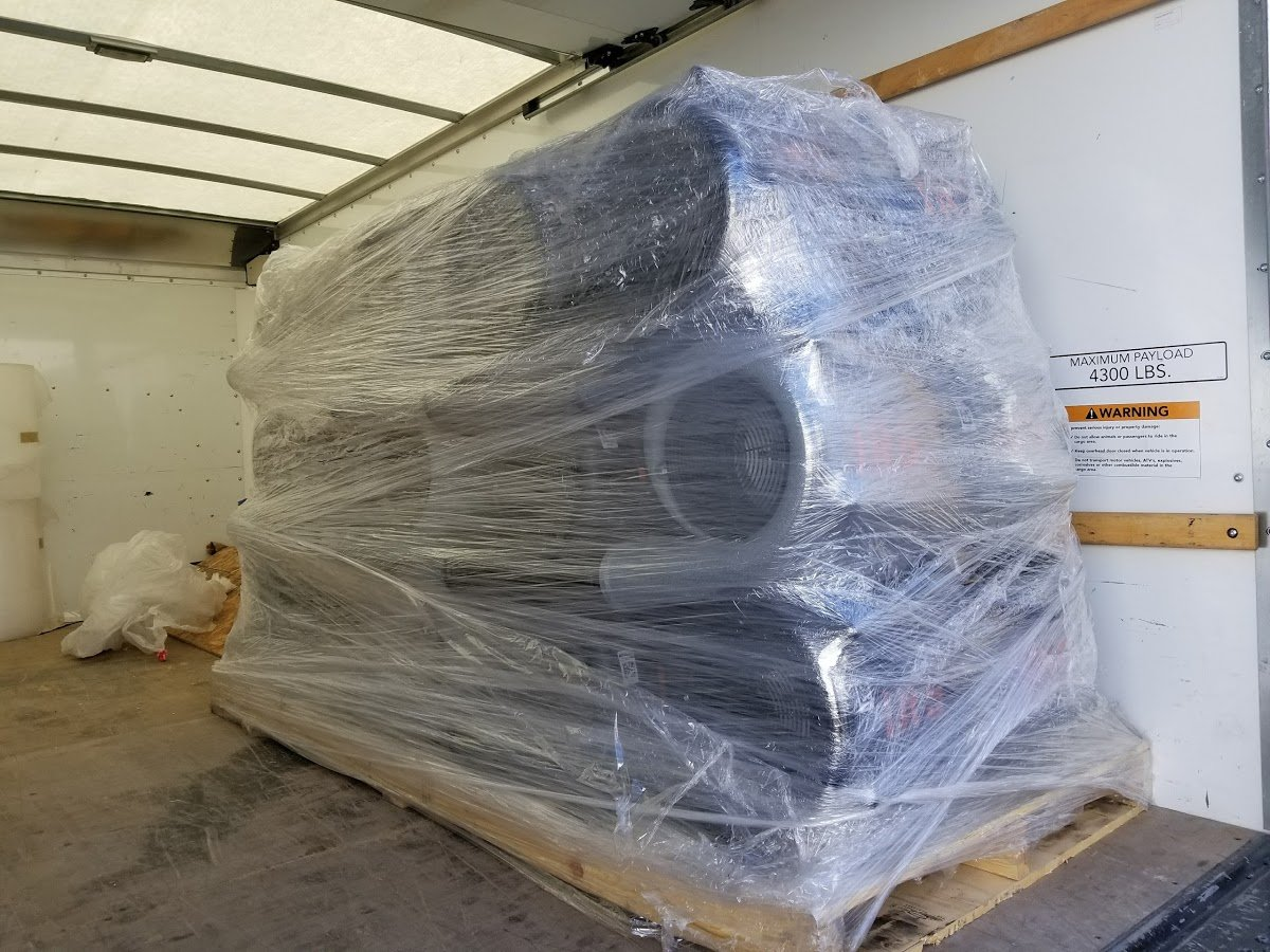 shipping large parts lv