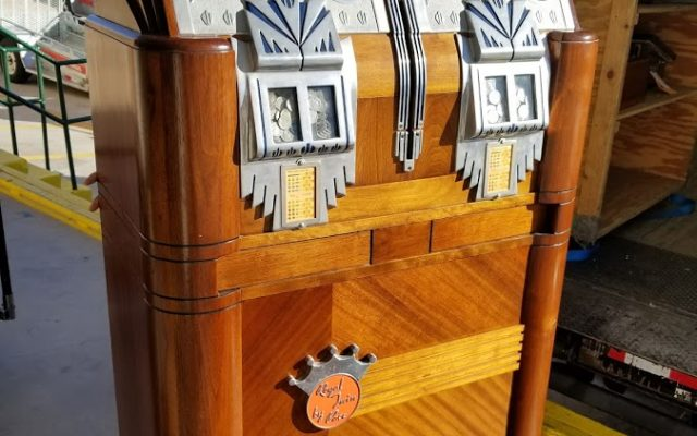 antique slot machines shiping